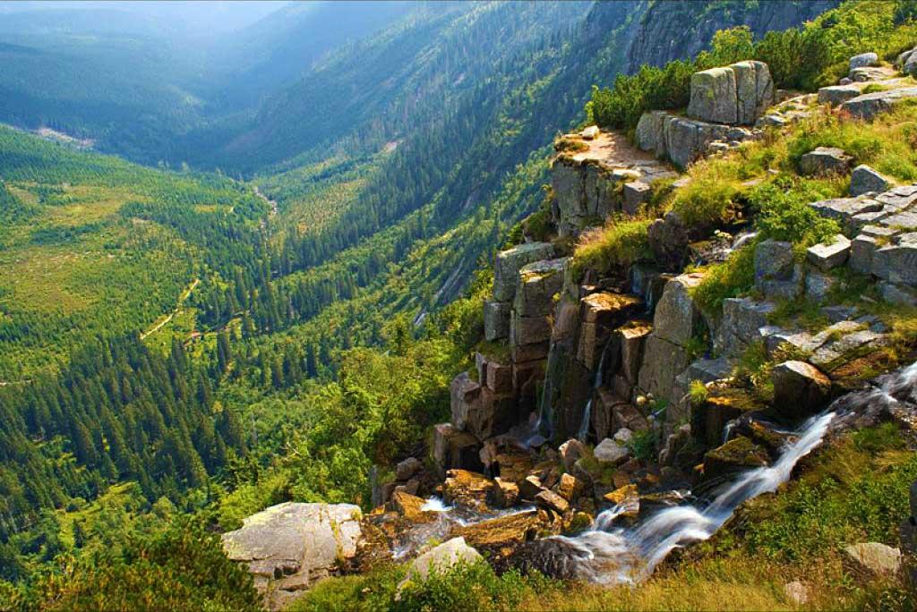 wodospad panczawski, czechy